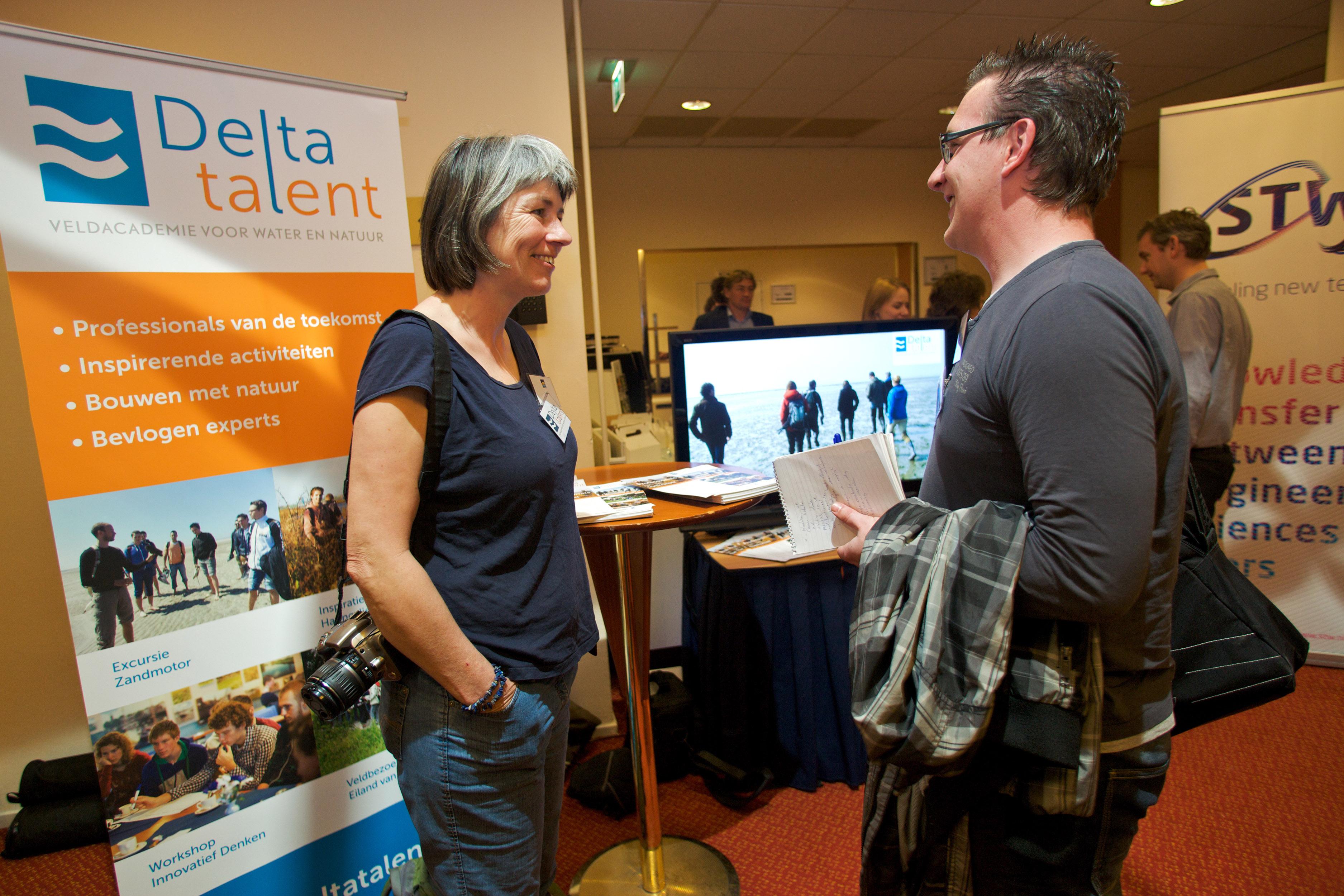 Delta Talent op het Zandmotorcongres