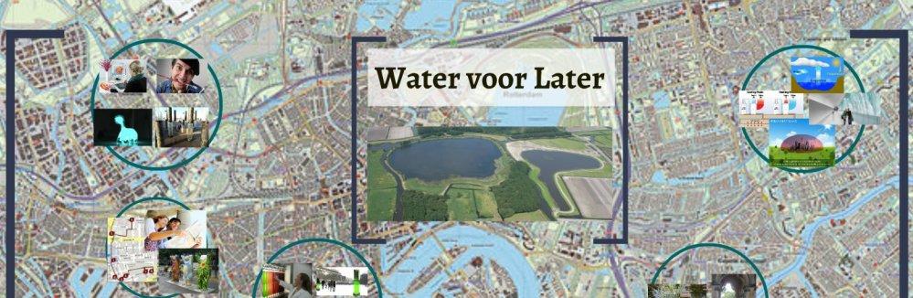Water voor Later-visie bij de workshop Aantrekkelijke Deltasteden