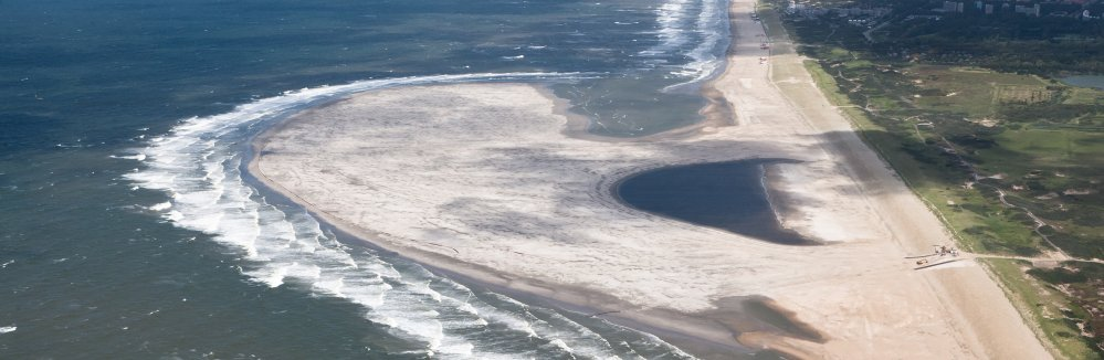 De Zandmotor bij Ter Heijde. Foto: Rijkswaterstaat/Joop van Houdt