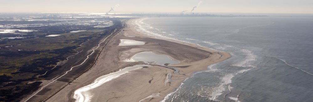 Zandmotor bij Ter Heijde. Foto: Rijkswaterstaat/Jurriaan Brobbel