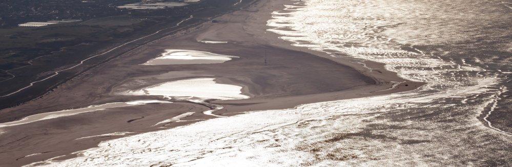 De Zandmotor bij Ter Heijde. Foto: Rijkswaterstaat/Jurriaan Brobbel