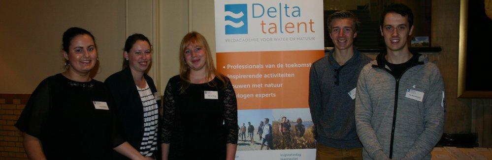 Delta Talent studenten op het Ecoshape Congres