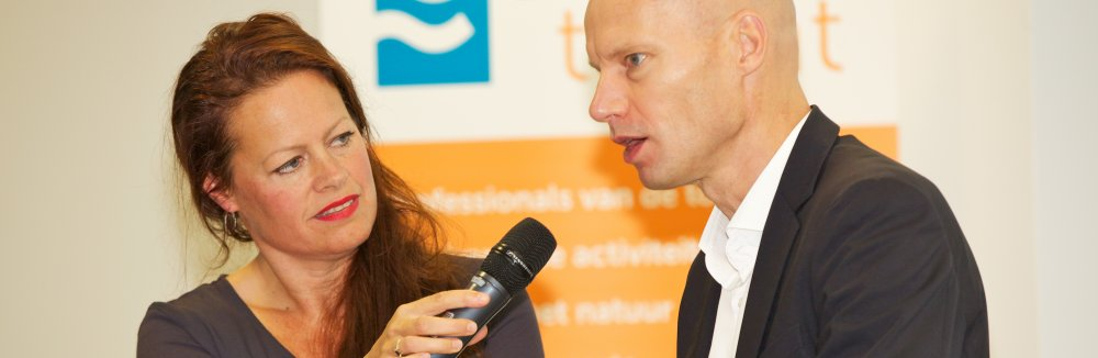 Watergezant Henk Ovink op de Delta Talent Academy