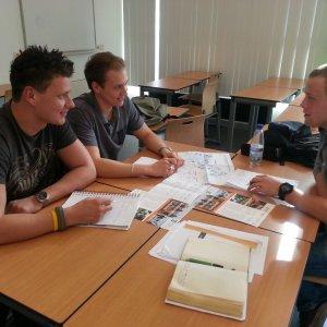 Studenten HRO aan de slag met de Rijnhaven