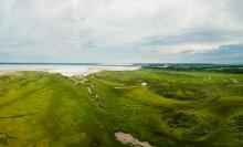 Het Haringvliet gezien vanuit Kwade Hoek. Foto: Lars Soerink